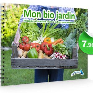Livre Mon Bio Jardin – 30 légumes et aromates faciles à cultiver, sans traitement