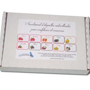 compote conserves maison Mon Bio Jardin Lot de 30 /étiquettes autocollantes tomates pour confiture