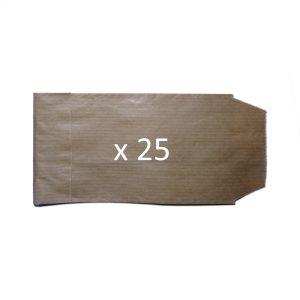 sachet kraft x25