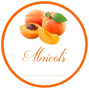 gs1 rond 50mm abricots