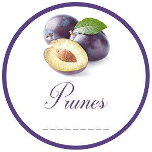 gs1 rond 50mm prunes